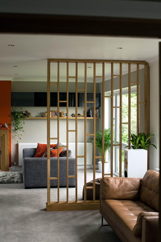 Solid Room Divider Ideas