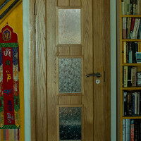 View Bespoke wooden door