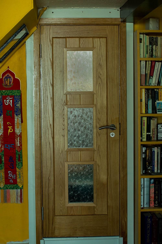 Internal glazed door Joiners Hertfordshire & Bespoke wooden door - Waterhall Joinery Ltd