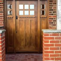 Oak Front Door, Joiners Hertfordshire