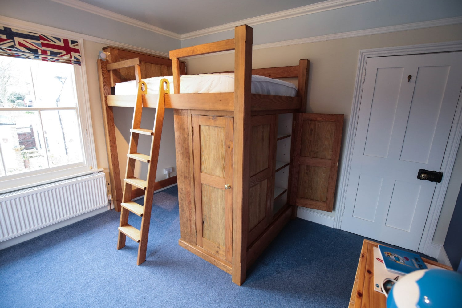 Bespoke Cabin Bed and Desk, Joiners Hertfordshire
