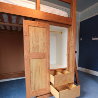 Bespoke Cabin Bed and wardrobe space, Joiners Hertfordshire