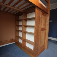 Bespoke Cabin Bed with Sheving, Joiners Hertfordhshire