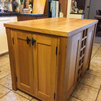 View Kitchen Island Unit