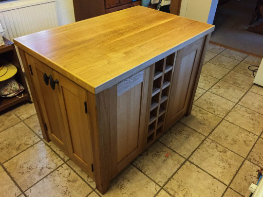 Kitchen Island Unit, Waterhall Joinery Ltd, Joiners Hertfordshire