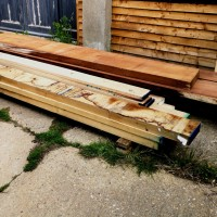 View Front Doors – From a pile of wood to a new pile