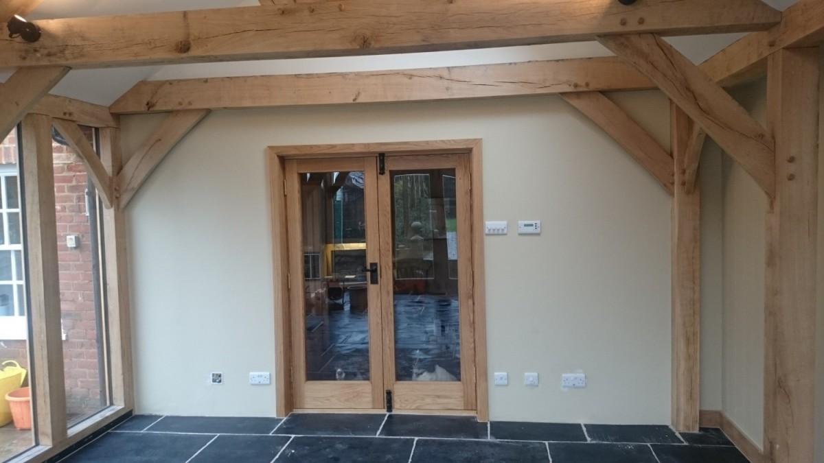 Oak Double Glazed Internal Doors