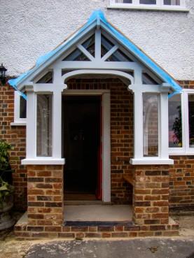 Bespoke Joinery Hertfordshire - Porch