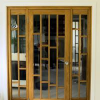 View Bespoke Oak Room Divider And Doors