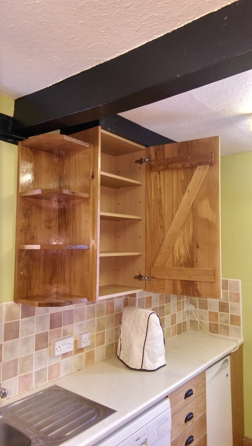 Bespoke kitchen unit, joiners Herfordshire