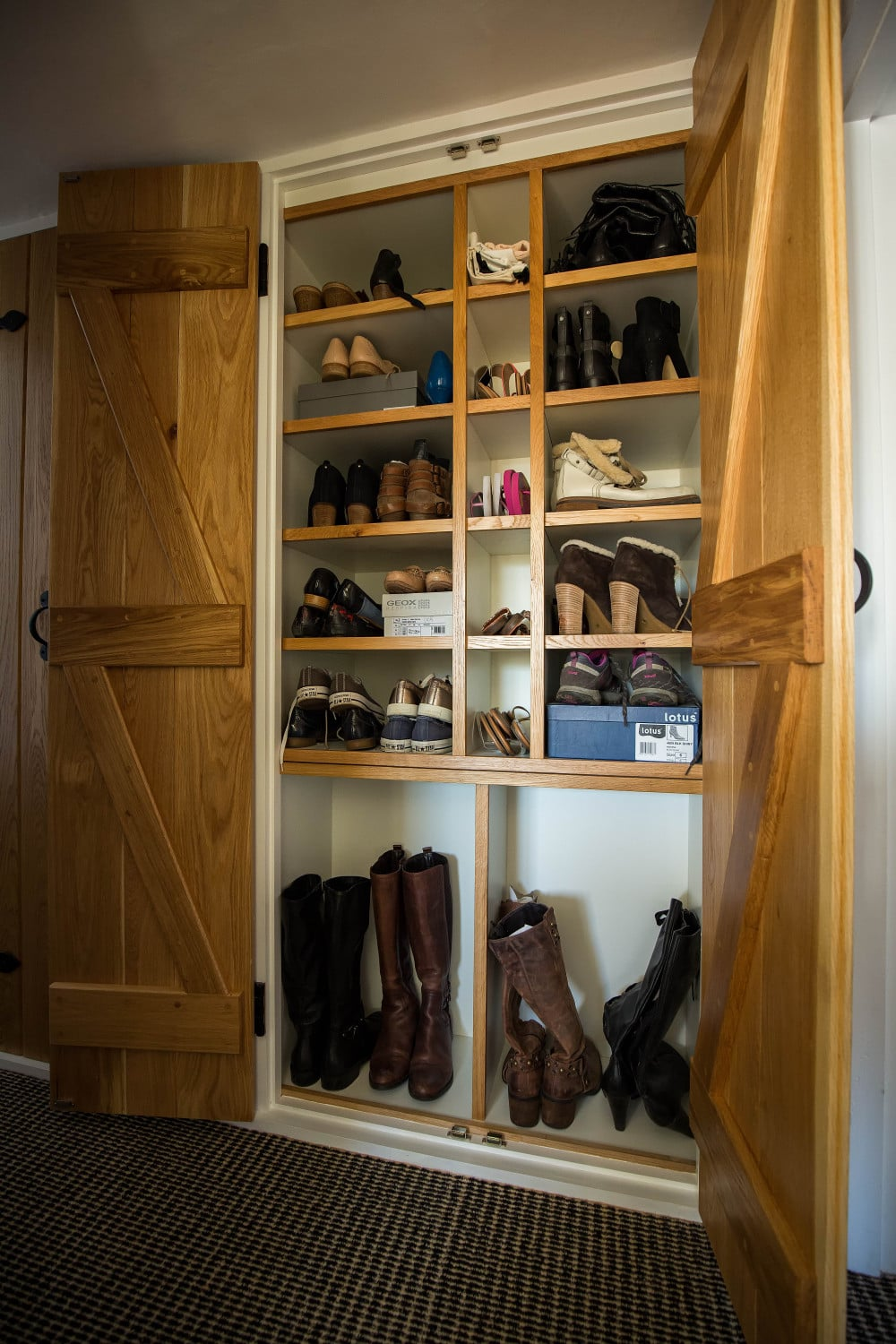 Shoe cupboard, joiners Hertfordshire