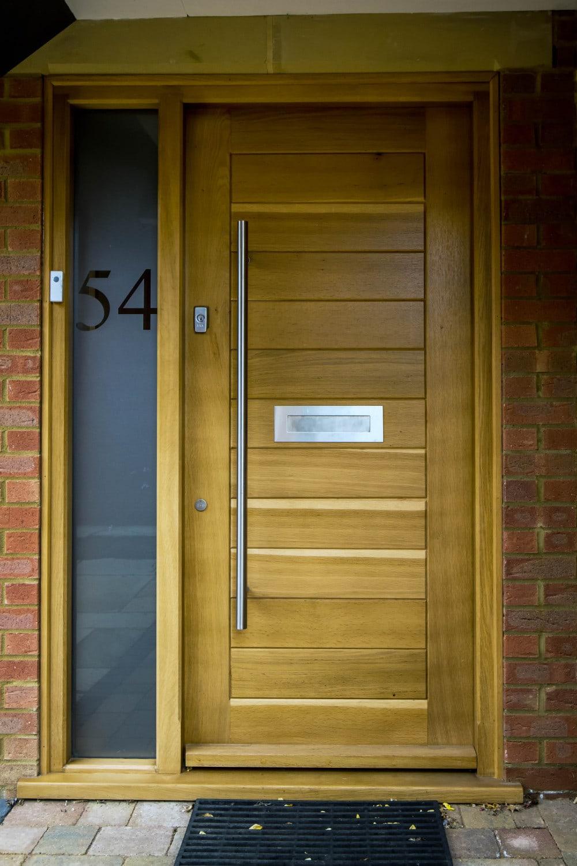 Contemporary front door, Joiners Hertfordshire