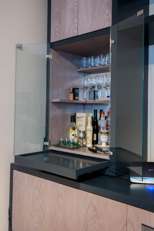 Drinks Cabinet, Joiners Hertfordshire, Waterhall Joinery Ltd