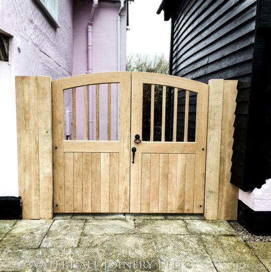 Solid Oak Gates, Waterhall Joinery Ltd