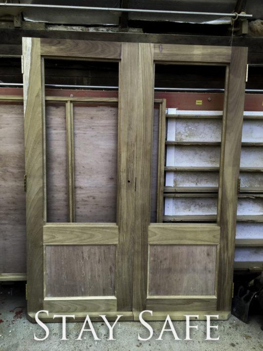 Manufacture of Hardwood double doors, Joiners Hertfordshire, Waterhall Joinery Ltd