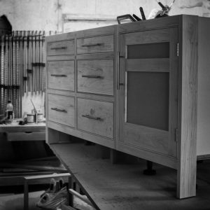 Bedroom cabinet - bespoke joinery Hertfordshire