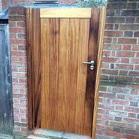 Hardwood Gate, Waterhall Joinery Ltd