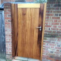 Hardwood Gate, Waterhall Joinery Ltd