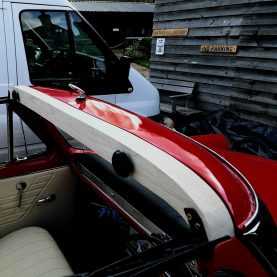 Classic Car soft top housing, Waterhall Joinery Ltd