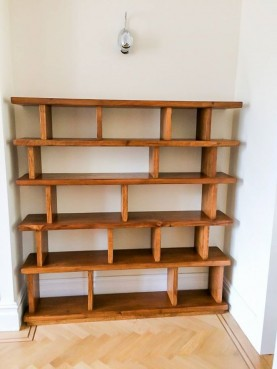 Contemporary Shelving Unit, Waterhall Joinery Ltd
