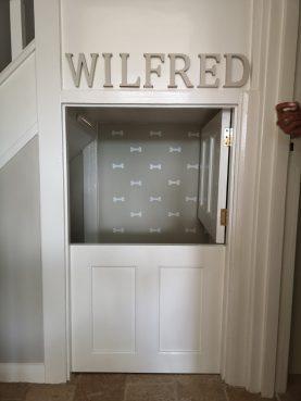 Understairs cupboard, Waterhall Joinery Ltd