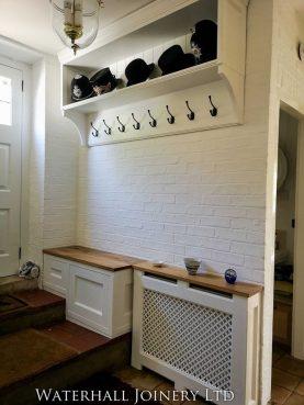 Coat Rack and Shoe Cupboard, Waterhall Joinery Ltd