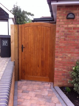Wooden Gate, Waterhall Joinery Ltd