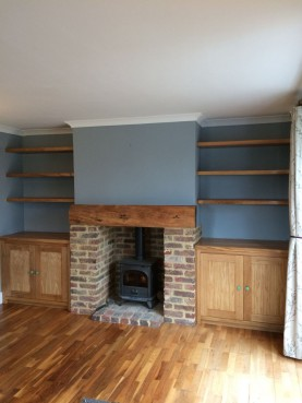 Shelving Units, Waterhall Joinery Ltd
