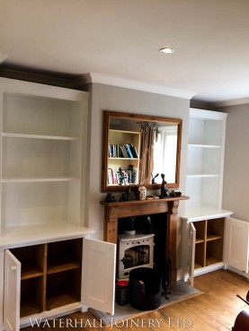 Shelving and Alcove Units, Joinery Hertfordshire