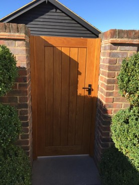 Back Garden Gate, Waterhall Joinery Ltd