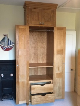 Bespoke wardrobes, Waterhall Joinery Ltd