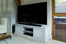 Entertainment Unit, Waterhall Joinery Ltd