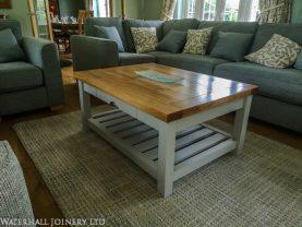 Bespoke coffee table, Waterhall Joinery Ltd