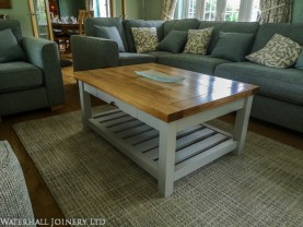 Bespoke coffee table, Waterhall Joinery Ltd
