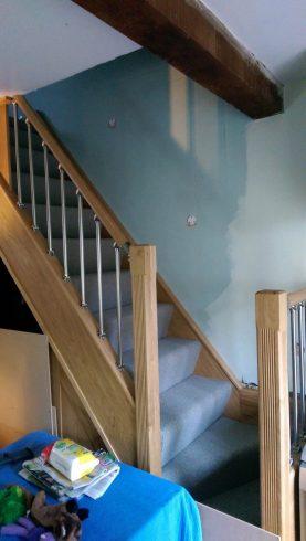 Bespoke Joinery - Stair Banister