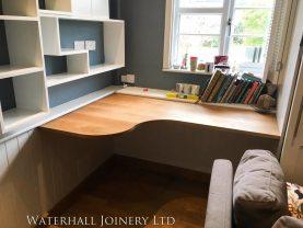 Wooden Desk, Waterhall Joinery Ltd