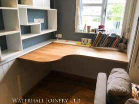 Wooden Desk, Waterhall Joinery Ltd