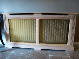 Bespoke Joinery Hertfordshire - Furniture - Radiator Cover