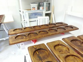 Bespoke Joinery Hertfordshire - Restaurant Tapas Trays