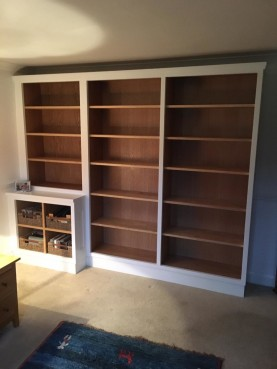 Shelving Unit, Waterhall Joinery Ltd