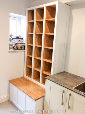 Shoe storage, Waterhall Joinery Ltd