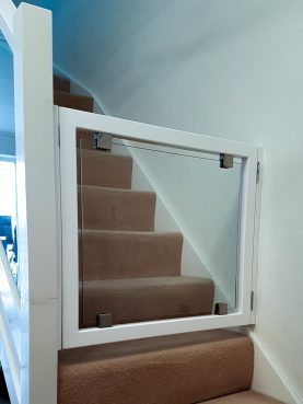 Bespoke Stair Gate, Waterhall Joinery Ltd