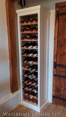 Bespoke Wine Cabinet, Joiners Hertfordshire