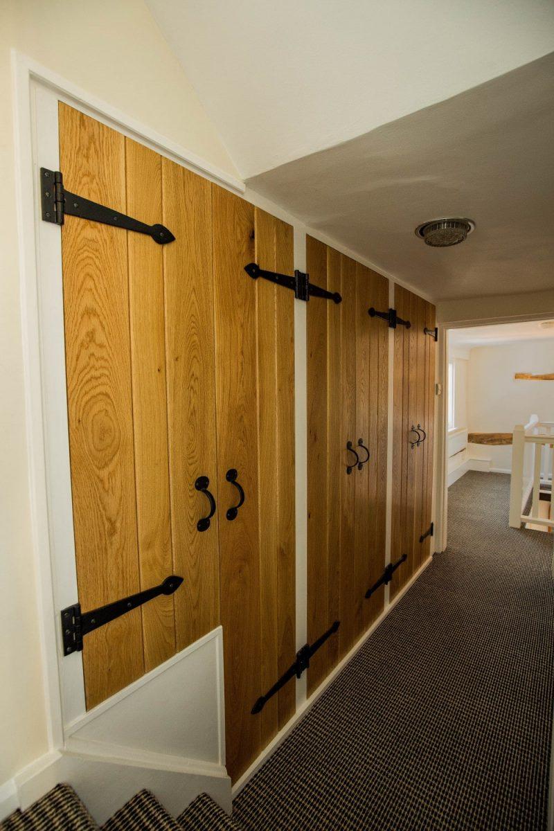 Shoe cupboard, Waterhall Joinery Ltd