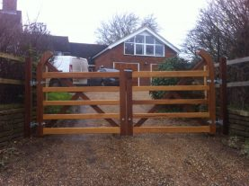 Wooden gates, Joiners Hertfordshire