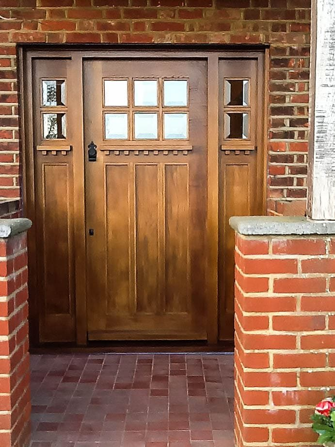Oak Front Door, Joiners Hertfordshire