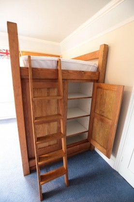 Bespoke Cabin Bed with storage area, Joiners Hertfordshire