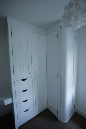 Fitted Corner Wardrobe, Waterhall Joinery Ltd, Bespoke Joiners